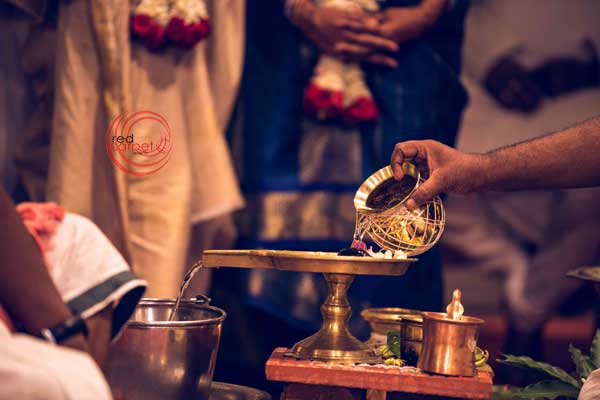 brahmin ritual dhara pouring of holy water -shashtipoorthi by Red Carpet Events at coimbatore palakkad kerala India Wedding Planning Gallery