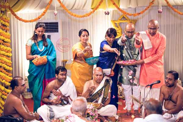 iyer ritual pushpa vrishti -shashtipoorthi by Red Carpet Events at Indraprastha hotel palakkad kerala India Wedding Planning Gallery