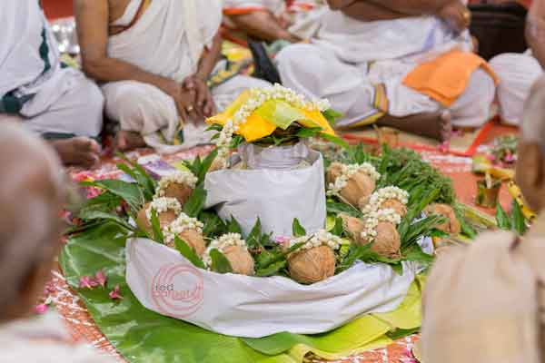 brahmin iyer ritual poorna kumbha -shashtipoorthi by Red Carpet Events at indraprastha palakkad coimbatore India Wedding Planning Gallery