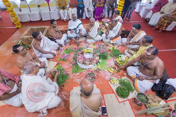 brahmin ritual chanting of manthras -shashtipoorthi by Red Carpet Events at palakkad coimbatore kerala tamilnadu India Wedding Planning Gallery