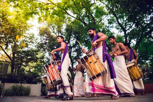 shingari melam chenda drummers -shashtipoorthi by Red Carpet Events at hotel indraprastha palakkad kerala India Wedding Planning Gallery