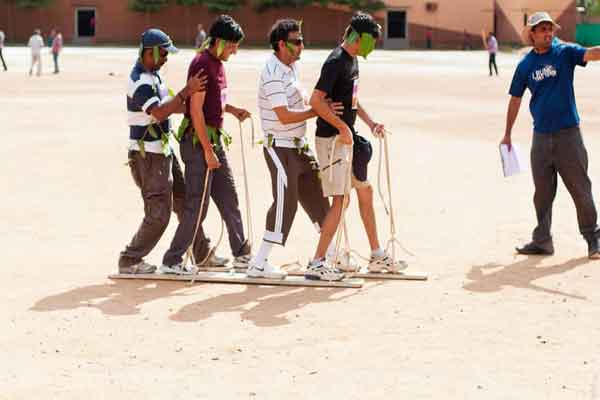 ice walk -Team Building by Red Carpet Events at Ramada resort Kochi kerala India Corporate Events Gallery