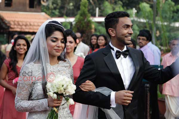 leaving the church -Christian wedding planning by Red Carpet Events at St Marys Orthodox Church kalloopaara thiruvalla India Wedding Planning Gallery