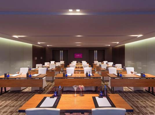 Hotel Crowne Plaza facilities: class room seating