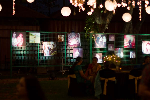 Aquaria - The Boutique Resort facilities: photo display for Birthday event at the lawn