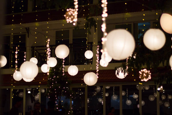 Aquaria - The Boutique Resort facilities: chinese lantern hanging for birthday celebration
