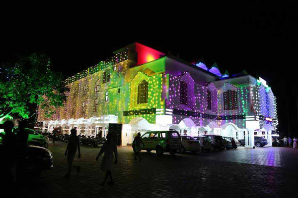 Preethi Convention Centre facilities: Night decor