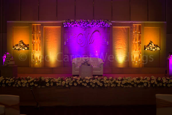 Hotel Crowne Plaza facilities: wedding reception stage