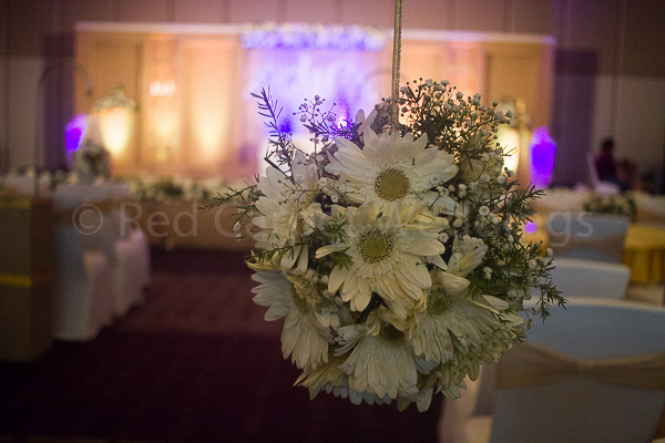 Hotel Crowne Plaza facilities: Walk way floral decor for wedding