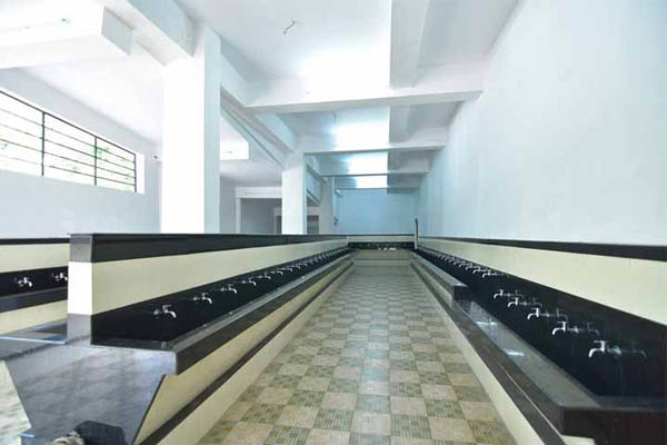 Preethi Convention Centre facilities: Clean wash area