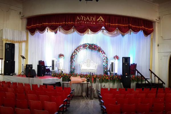 Amani Auditorium facilities:
