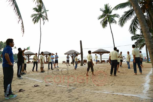 beach area in hotel leela kovalam for corporate team building games.jpg