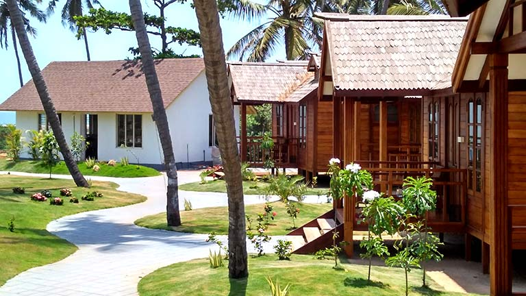KTDC Bekal Beach Camp facilities: cottages
