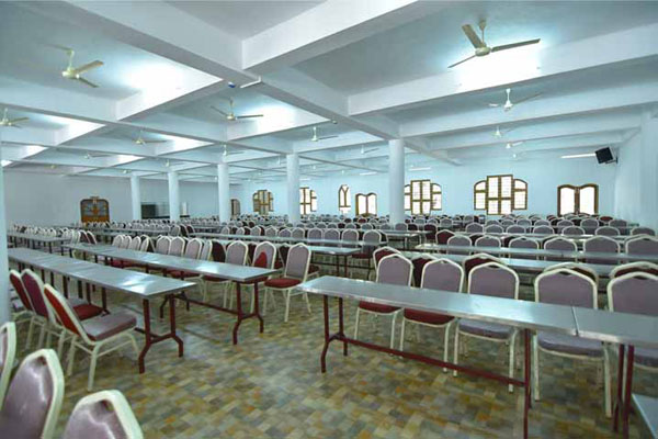 Preethi Convention Centre facilities: Dining area