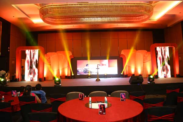 Hotel Crowne Plaza facilities: Corporate award stage