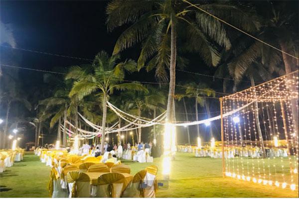 Malabar Ocean Front Resort and Spa facilities: wedding reception decor