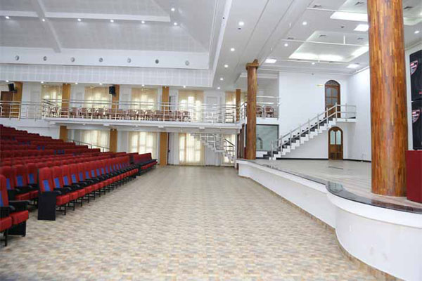 Preethi Convention Centre facilities: Stage view from side