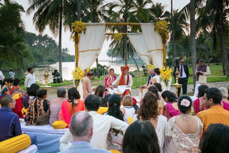 Taj Bekal Resort & Spa facilities: wedding at lawn