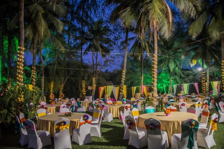 Taj Bekal Resort & Spa facilities: lawn wedding