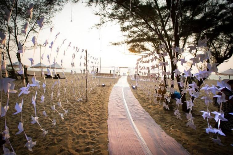 Taj Bekal Resort & Spa facilities: patway to beach wedding