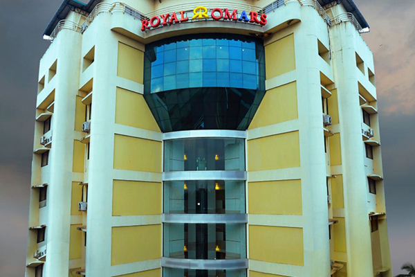 Event Management Kannur Royal omars_exterior.JPG
