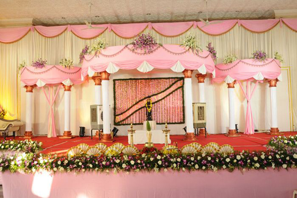 Prasanna lekshmi auditorium palakkad flower decor.JPG