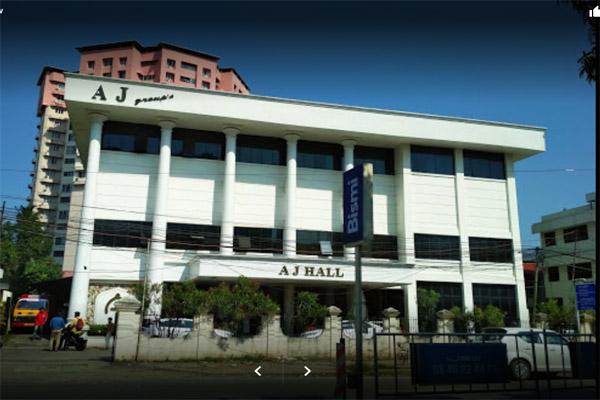 A J Hall|Kaloor kochi.  Ac  Auditorium