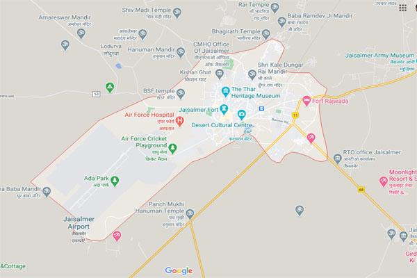 JAISALMER MAP