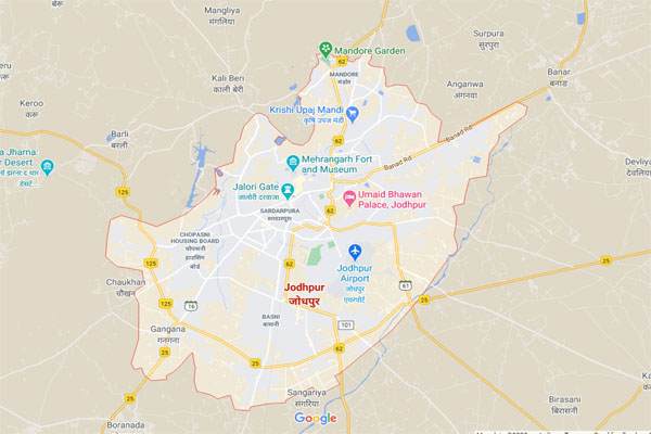 JODHPUR MAP