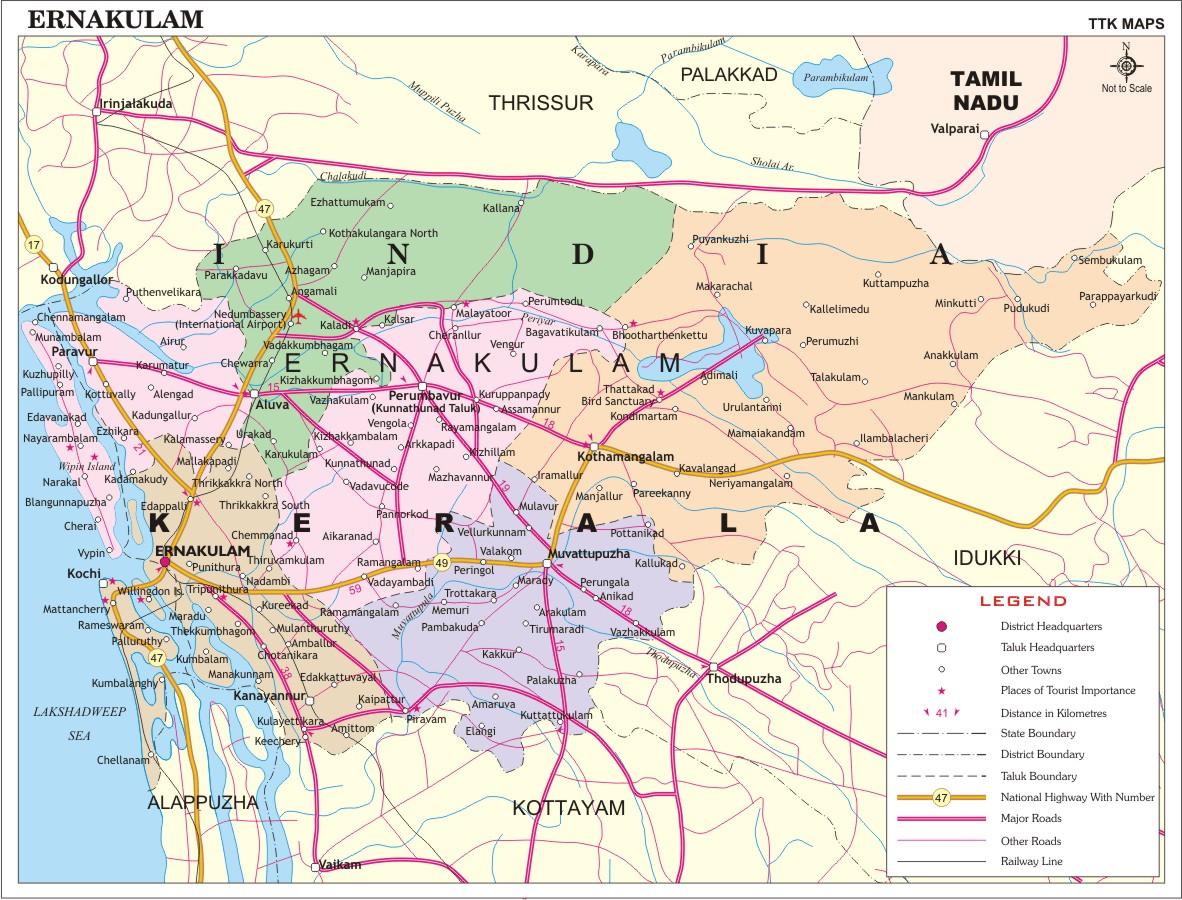 KOCHI MAP