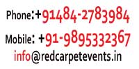 Contact Red Carpet Events Address phone number Wedding planner cochin kochi ernakulam  kerala